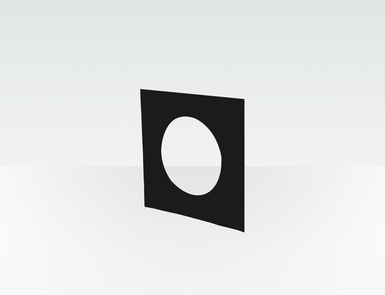 productfoto Wall Plate (Square - Plastic)